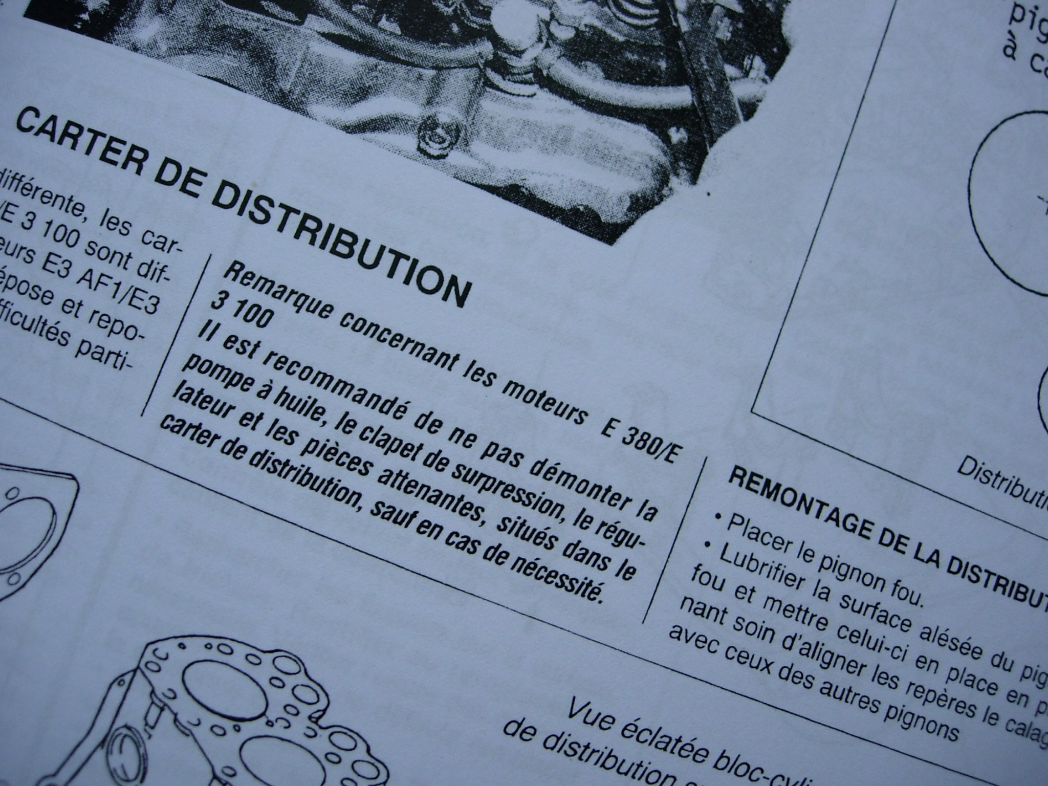 Service manual Iseki in French