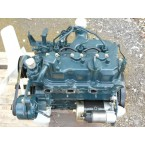 NN - 855 cc - 3 cyl. - 19.8 HP - complete adaptable engine with injection pump, injectors, new oil filter, flywheel, starter, d