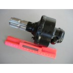 "AP - PTO adaptor 1""3/8 male-female with free wheel - Keeps the rotational momentum from ""pushing"" your tractor after the clutch"