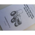Service manual Kubota in English