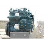 NN - 762 cc - 3 cyl. - 16 HP - complete second adaptable engine with injection pump, injectors, new oil filter, flywheel, start