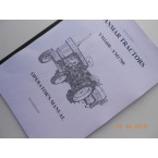Operator's manual Yanmar in English