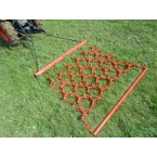 Trailed meadow harrow Hobby 150 cm