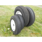 "Kit white turf wheels 12 -16"" - narrow front tyres"