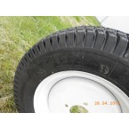 "Turf wheel 12"" white - narrow"