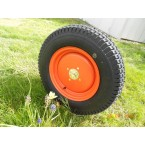"Turf wheel 12""orange - narrow"