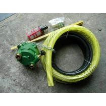 """AP- on 1""""3/8 PTO - with 2 x 6 m pipe - 1 filter and connections - delivery: 37L/min."""