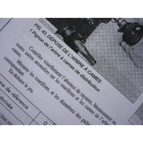 Service manual in French