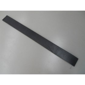 Rubber blade for snow blade